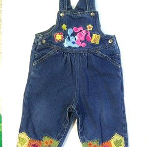 Blue Clue girl overall size 12 months